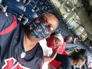 Koolkole attended Houston Texans vs. Minnesota Vikings - NFL on Oct 4th 2020 via VetTix