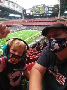 Deb attended Houston Texans vs. Minnesota Vikings - NFL on Oct 4th 2020 via VetTix