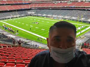 Robert attended Houston Texans vs. Minnesota Vikings - NFL on Oct 4th 2020 via VetTix