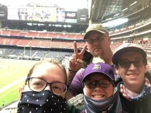 Neil attended Houston Texans vs. Minnesota Vikings - NFL on Oct 4th 2020 via VetTix