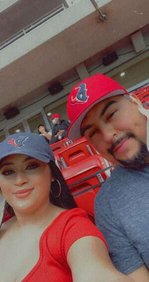 Hirving S. attended Houston Texans vs. Minnesota Vikings - NFL on Oct 4th 2020 via VetTix