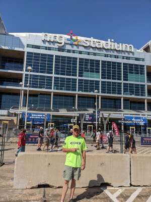 Chris  attended Houston Texans vs. Minnesota Vikings - NFL on Oct 4th 2020 via VetTix
