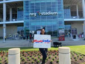 Shereiff  attended Houston Texans vs. Minnesota Vikings - NFL on Oct 4th 2020 via VetTix