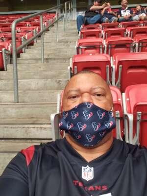 Mike attended Houston Texans vs. Minnesota Vikings - NFL on Oct 4th 2020 via VetTix