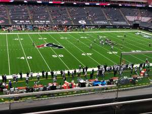 Gabby attended Houston Texans vs. Minnesota Vikings - NFL on Oct 4th 2020 via VetTix
