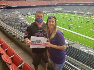 Michael  attended Houston Texans vs. Minnesota Vikings - NFL on Oct 4th 2020 via VetTix