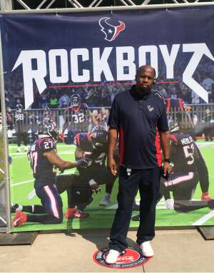 Eddie attended Houston Texans vs. Minnesota Vikings - NFL on Oct 4th 2020 via VetTix