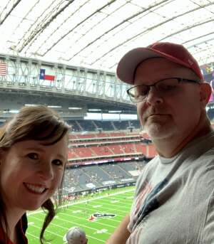 Michael O'Malley attended Houston Texans vs. Minnesota Vikings - NFL on Oct 4th 2020 via VetTix