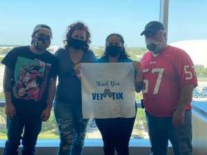 AJordan attended Houston Texans vs. Minnesota Vikings - NFL on Oct 4th 2020 via VetTix