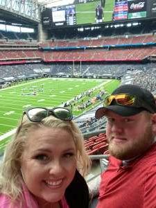 Jon attended Houston Texans vs. Minnesota Vikings - NFL on Oct 4th 2020 via VetTix