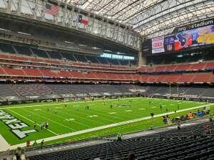 Rudy attended Houston Texans vs. Minnesota Vikings - NFL on Oct 4th 2020 via VetTix