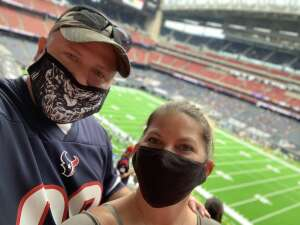 Lloyd attended Houston Texans vs. Minnesota Vikings - NFL on Oct 4th 2020 via VetTix
