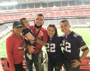 Vu Pham attended Houston Texans vs. Minnesota Vikings - NFL on Oct 4th 2020 via VetTix