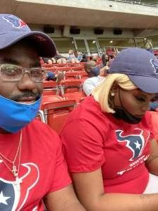 ChevyJ attended Houston Texans vs. Minnesota Vikings - NFL on Oct 4th 2020 via VetTix