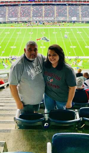 Joe Marin attended Houston Texans vs. Minnesota Vikings - NFL on Oct 4th 2020 via VetTix