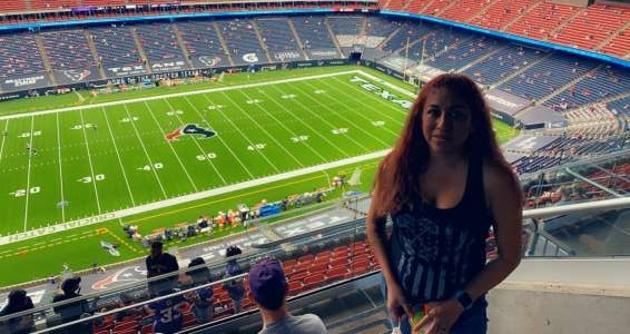 Blanca attended Houston Texans vs. Minnesota Vikings - NFL on Oct 4th 2020 via VetTix