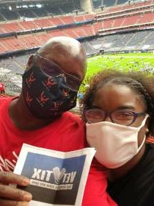 Kendall  attended Houston Texans vs. Minnesota Vikings - NFL on Oct 4th 2020 via VetTix