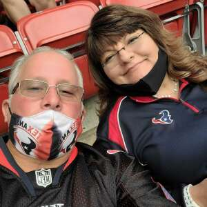 Rios attended Houston Texans vs. Minnesota Vikings - NFL on Oct 4th 2020 via VetTix