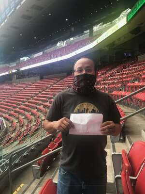 Lupe attended Houston Texans vs. Minnesota Vikings - NFL on Oct 4th 2020 via VetTix