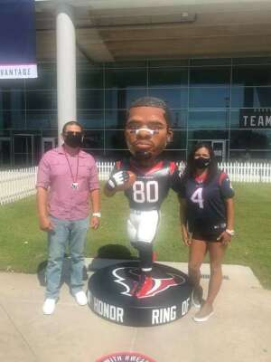 Will attended Houston Texans vs. Minnesota Vikings - NFL on Oct 4th 2020 via VetTix