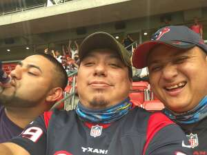 Alex C. attended Houston Texans vs. Minnesota Vikings - NFL on Oct 4th 2020 via VetTix
