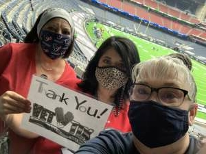 Txoptigal attended Houston Texans vs. Minnesota Vikings - NFL on Oct 4th 2020 via VetTix