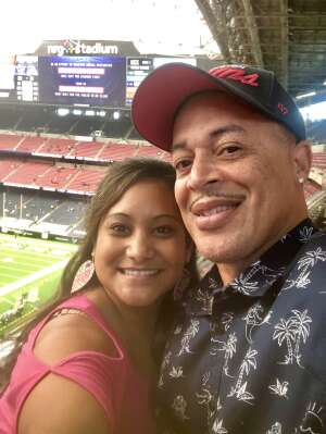 James Pinn attended Houston Texans vs. Minnesota Vikings - NFL on Oct 4th 2020 via VetTix
