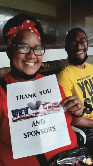 VaRonica  attended Houston Texans vs. Minnesota Vikings - NFL on Oct 4th 2020 via VetTix