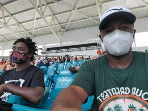 Keith attended University of Miami Hurricanes vs. Pittsburgh - NCAA Football on Oct 17th 2020 via VetTix