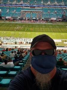 Les attended University of Miami Hurricanes vs. Pittsburgh - NCAA Football on Oct 17th 2020 via VetTix