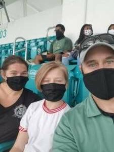 Scott attended University of Miami Hurricanes vs. Pittsburgh - NCAA Football on Oct 17th 2020 via VetTix