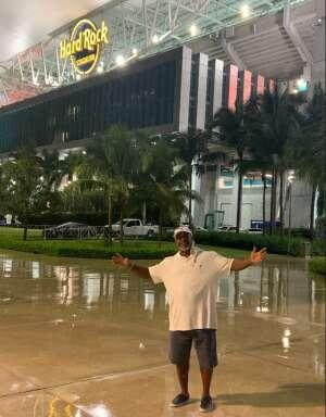 Theron Smith attended University of Miami Hurricanes vs. Pittsburgh - NCAA Football on Oct 17th 2020 via VetTix
