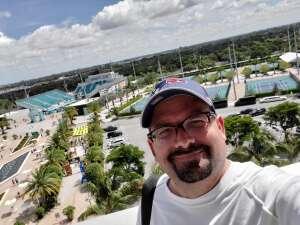 Richard attended University of Miami Hurricanes vs. Pittsburgh - NCAA Football on Oct 17th 2020 via VetTix