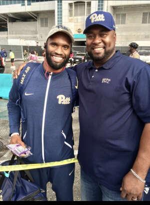 Lawrence attended University of Miami Hurricanes vs. Pittsburgh - NCAA Football on Oct 17th 2020 via VetTix