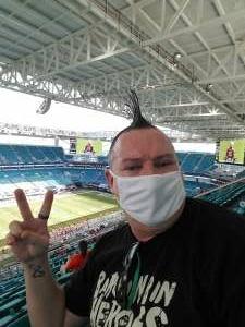 John attended University of Miami Hurricanes vs. Pittsburgh - NCAA Football on Oct 17th 2020 via VetTix