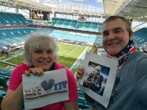 Paul and Ava  Baker attended University of Miami Hurricanes vs. Pittsburgh - NCAA Football on Oct 17th 2020 via VetTix