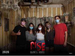 Melanie attended Rise Haunted House - Friday Only on Oct 10th 2020 via VetTix