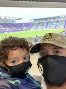 Julian  attended *** Postponed *** Orlando City SC vs. Columbus Crew - Major League Soccer on Oct 11th 2020 via VetTix