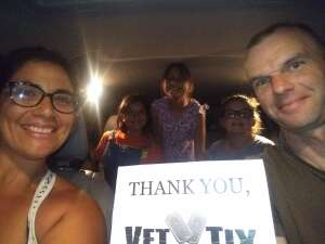 Gaby attended Drive-in: Labyrinth on Oct 15th 2020 via VetTix