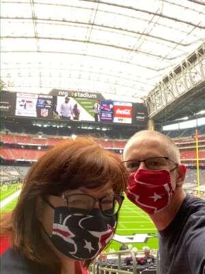 Tim Stansbury attended Houston Texans vs. Jacksonville Jaguars - NFL on Oct 11th 2020 via VetTix