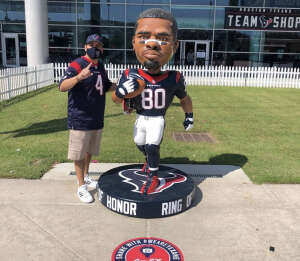 Anthony  attended Houston Texans vs. Jacksonville Jaguars - NFL on Oct 11th 2020 via VetTix