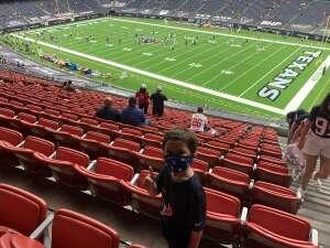 Jason O. attended Houston Texans vs. Jacksonville Jaguars - NFL on Oct 11th 2020 via VetTix