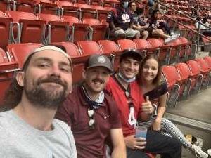 Adam attended Houston Texans vs. Jacksonville Jaguars - NFL on Oct 11th 2020 via VetTix