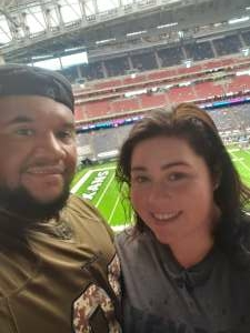 Kevin Carballo attended Houston Texans vs. Jacksonville Jaguars - NFL on Oct 11th 2020 via VetTix