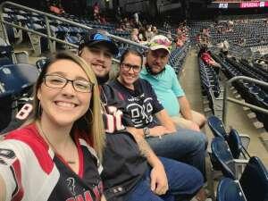 Corey Benton attended Houston Texans vs. Jacksonville Jaguars - NFL on Oct 11th 2020 via VetTix