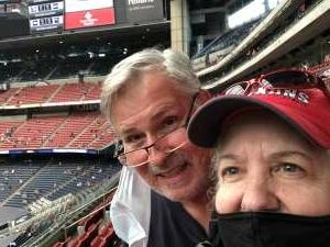Andrea attended Houston Texans vs. Jacksonville Jaguars - NFL on Oct 11th 2020 via VetTix