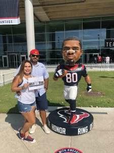 Javi attended Houston Texans vs. Jacksonville Jaguars - NFL on Oct 11th 2020 via VetTix