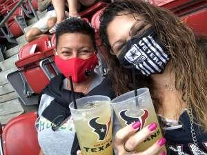 Maria Adams attended Houston Texans vs. Jacksonville Jaguars - NFL on Oct 11th 2020 via VetTix