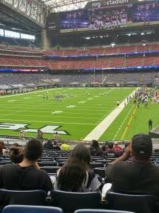 Fred attended Houston Texans vs. Jacksonville Jaguars - NFL on Oct 11th 2020 via VetTix