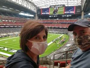 Doug B attended Houston Texans vs. Jacksonville Jaguars - NFL on Oct 11th 2020 via VetTix